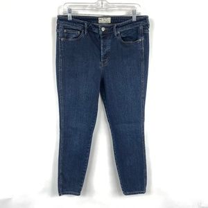Free People Skinny Leg Jeans Denim 3705